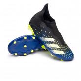 Zapatos de fútbol Predator Freak .3 LL FG Niño Black-White-Solar yellow