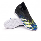 Futsal Boot Kids Predator Freak .3 LL IN  Black-White-Solar yellow