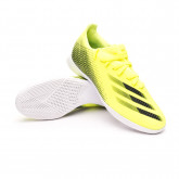Futsal Boot X Ghosted.3 IN Solar yellow-Black-Royal blue