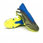 Zapatos de fútbol Nemeziz .3 LL FG Black-White-Solar yellow