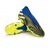 Zapatos de fútbol Nemeziz .3 LL FG Niño Black-White-Solar yellow