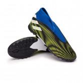 Zapatos de fútbol Nemeziz .3 LL Turf Niño Black-White-Solar yellow