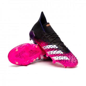 Predator Freak .1 FG Black-White-Shock pink