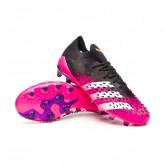 Bota Predator Freak .1 L AG Black-White-Shock pink