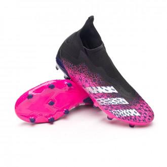 Predator Freak .3 LL FG Black-White-Shock pink