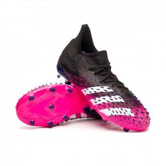 Predator Freak .1 FG Niño Black-White-Pink