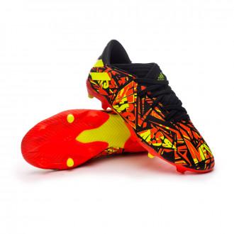 Kids Nemeziz Messi .3 FG Solar red-Solar yellow-Core black