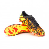 Chuteira Nemeziz Messi .4 FxG Criança Solar red-Solar yellow-Core black