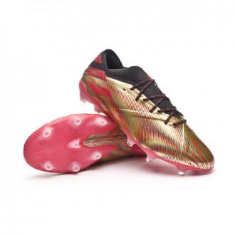 Nemeziz Messi .1 FG Gold metallic-Scarlet-Black