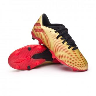 Nemeziz Messi .3 FG Niño Gold metallic-Scarlet-Black