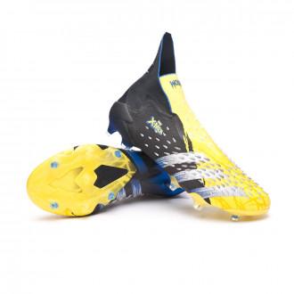 Predator Freak + FG Bright yellow-Silver metallic-Core black