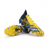 Bota Predator Freak .1 FG Bright yellow-Blue-Core black