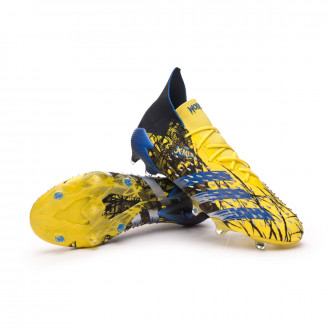 Predator Freak .1 FG Bright yellow-Blue-Core black
