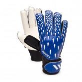Luvas Predator Training Niño Team royal blue-White-Black