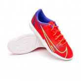 Futsal Boot Mercurial Vapor 14 Academy IC Niño Bright crimson-Metallic silver-Indigo burst