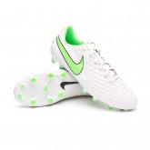 Football Boots Tiempo Legend 8 Academy FG/MG Platinum tint-Rage green-Black