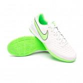 Futsal Boot Tiempo Legend 8 Academy IC Platinum tint-Rage green-Black