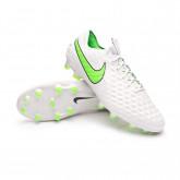 Football Boots Tiempo Legend 8 Elite FG Platinum tint-Rage green-Black