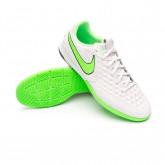Futsal Boot React Tiempo Legend 8 Pro IC Platinum tint-Rage green-Black