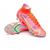 Football Boots Mercurial Superfly 8 Elite FG Bright crimson-Metallic silver-Indigo burst-W