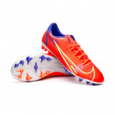 Football Boots Mercurial Vapor 14 Academy AG Bright crimson-Metallic silver-Indigo burst