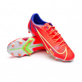 Chaussure de foot Mercurial Vapor 14 Academy FG/MG Bright crimson-Metallic silver-Indigo burst