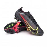 Chaussure de foot Mercurial Vapor 14 Elite AG Black-Cyber-Off noir-Siren red