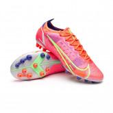 Football Boots Mercurial Vapor 14 Elite AG Bright crimson-Metallic silver-Indigo burst