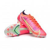 Chaussure de foot Mercurial Vapor 14 Elite FG Bright crimson-Metallic silver-Indigo burst