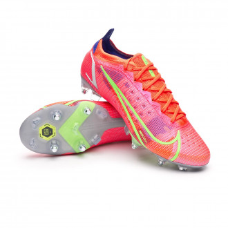 Mercurial Vapor 14 Elite SG-PRO Anti-Clog Bright crimson-Metallic silver-Indigo burst