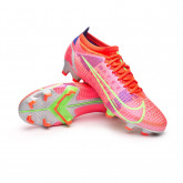 Football Boots Mercurial Vapor 14 Pro FG Bright crimson-Metallic silver-Indigo burst-W