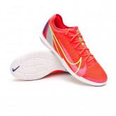 Futsal Boot Zoom Mercurial Vapor 14 Pro IC Bright crimson-Metallic silver-Indigo burst