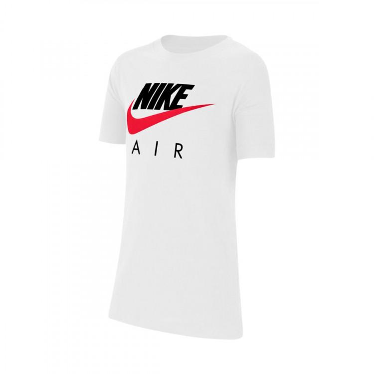 Maillot Nike Sportswear Nike Air Niño White-University red ...