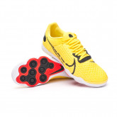 Futsal Boot React Gato Opti yellow-Dark Smoke grey-White-Opti yellow