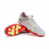 Futsal Boot React Gato Grey fog-Ghost green-Wolf grey-Bright crimson