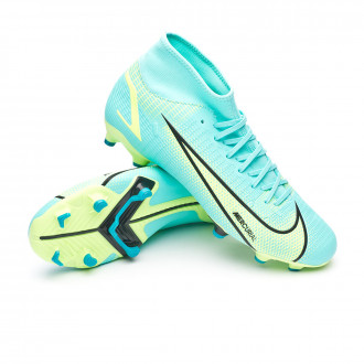 Mercurial Superfly 8 Academy FG/MG Dynamic turquoise-Lime glow-Off noir