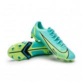Chaussure de foot Mercurial Vapor 14 Academy FG/MG Dynamic turquoise-Lime glow-Off noir