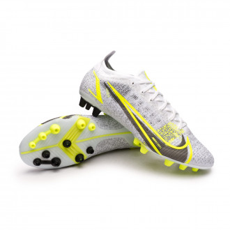 Mercurial Vapor 14 Elite AG White-Black-Metallic silver-Volt