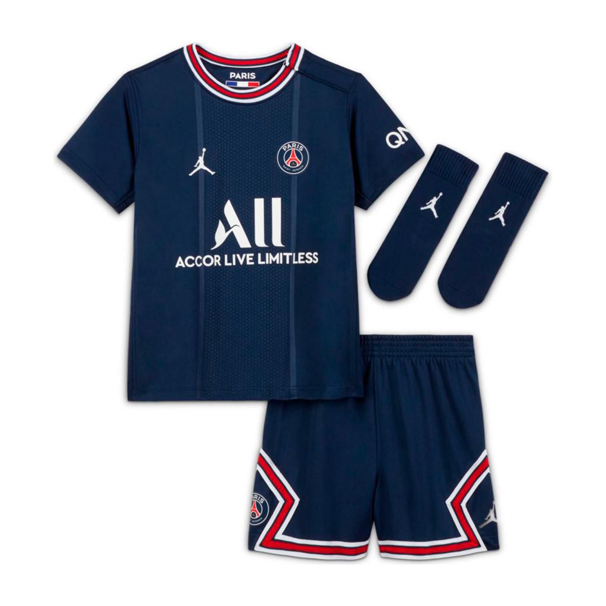 Nike Kids Paris Saint Germain Home Kit 2021-2022 Kit