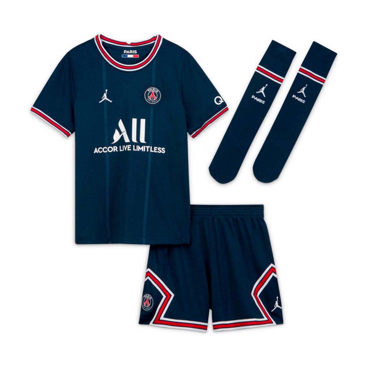 Completo Nike Paris Saint Germain Primo Kit 2021-2022 Bambino