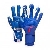 Guante Attrakt Freegel Fusion Goaliator Deep blue-Deep blue