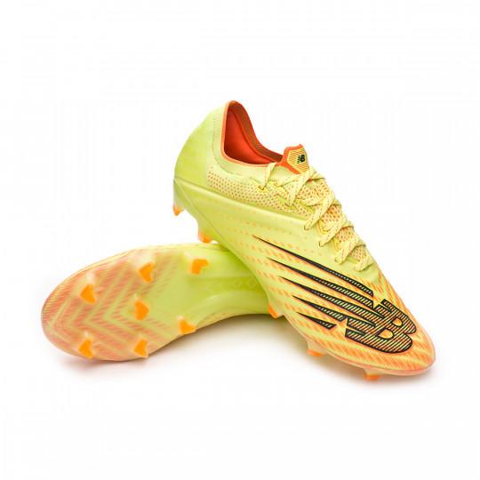 Football Boots New Balance Furon V6 Pro FG Bleached lime glo