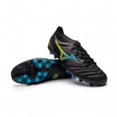 Chaussure de foot Morelia Neo III Pro AG Black-Blue atoll