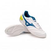 Futsal Boot MRL Sala Club IN White-Mykonos blue