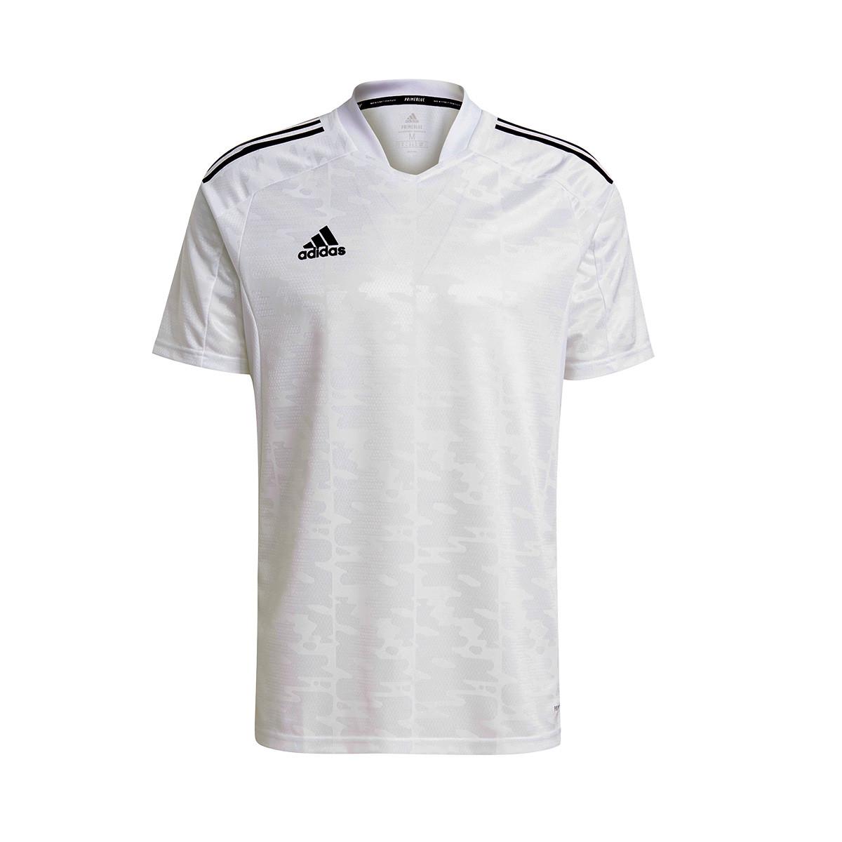 Jersey adidas Condivo 21 m/c White-Black - Fútbol Emotion