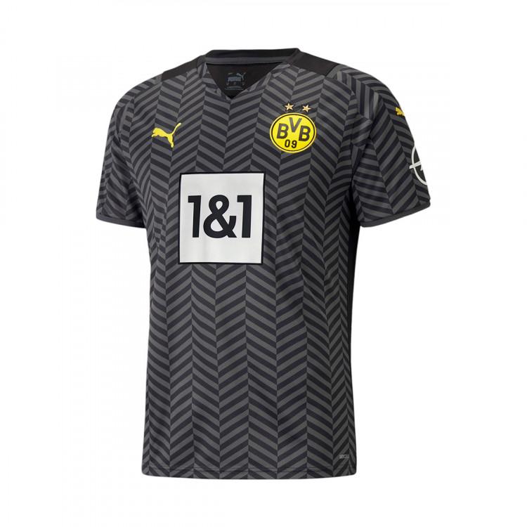 Maglia Puma Borussia Dortmund Segunda Equipación 2021-2022