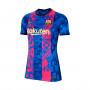 FC Barcelona Tenue Third Stadium 2021-2022 Enfant Hyper royal-Varsity maize