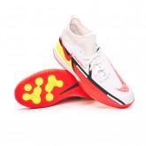 Futsal Boot Phantom GT2 Academy DF IC Niño White-Bright crimson-Volt-Black