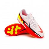 Futsal Boot Phantom GT2 Academy IC Niño White-Bright crimson-Volt-Black