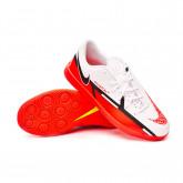 Futsal Boot Phantom GT2 Club IC Niño White-Bright crimson-Volt-Black